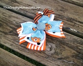 Finding Nemo Hair Bow