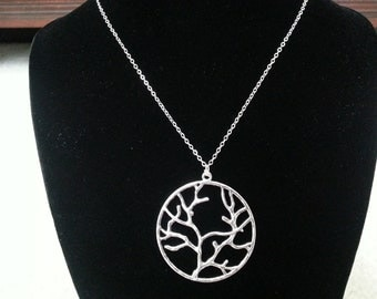 Simple Tree Of Life Necklace