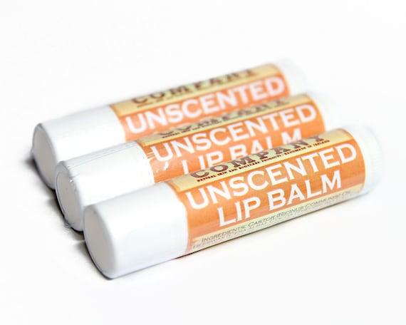 Unscented Lip Balm Fragrance Free Lip Balm Tube