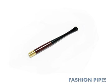 "Vintage Sleek Slim Cigarette holder ""Audrey Hepburn"" 3.9""/100 mm fits slim cigarettes, Pear Wood Handcrafted."