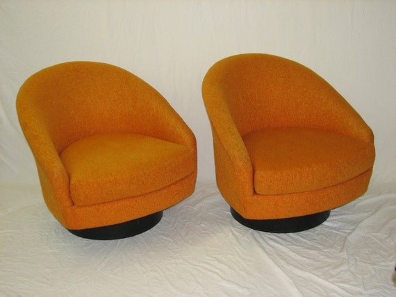 Reserved for Trish Mid Century Modern, danish, retro, vintage Adrian Pearsall upholstered pair of chairs