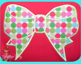 Ribbon applique design