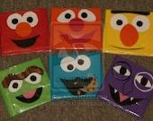 Sesame Street Duct Tape Wallet