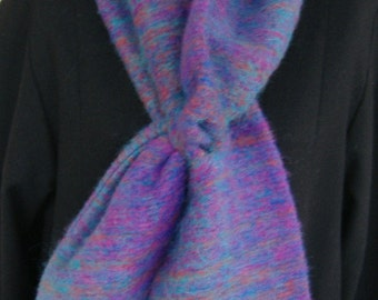 Mohair Scarf Multi color Custom Design