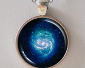 Galaxy Necklace - Hot & Cold in the M100 Galaxy  - Galaxy Series (G023)