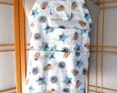 Cowboy Apron,  Kids Cooking Party,  Toddler Boys Apron, Country Western