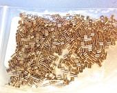 14k gold filled crimp beads 2x2 mm set of 50 pieces
