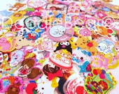 Kawaii Sticker Flakes Supply - Small - Cute Stickers - Scrapbook - Papercrafts - 50 pieces