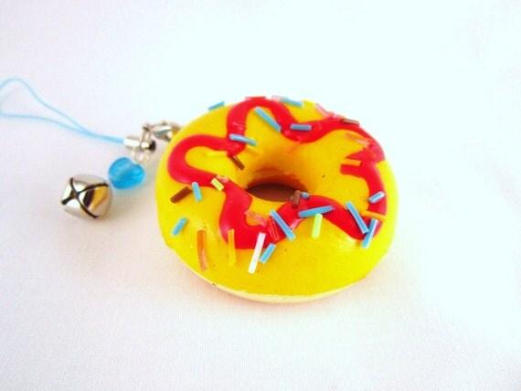 SALE - Yellow Sprinkles Donut Kawaii Squishy