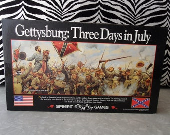 Gettysburg Three Days in July - Speerit Strategy Board Game - rare and fantastic