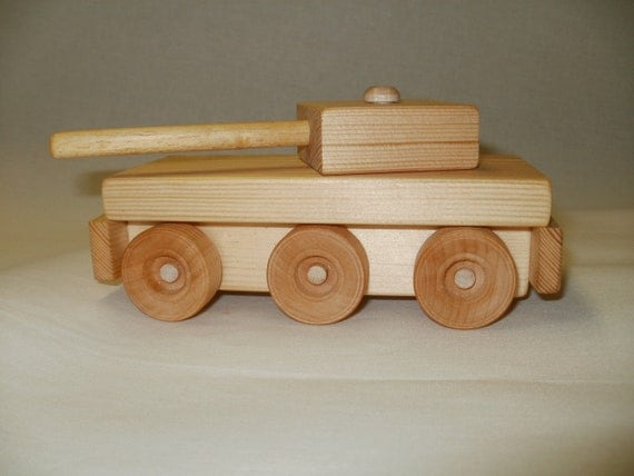toy tank wood  toy  pull toy scroll saw