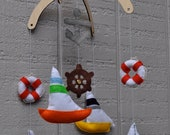 Sailboat Baby Mobile