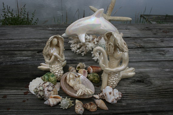 Mermaid Nativity starter set