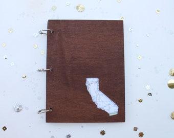 Custom State journal/ mini album - choose the state you want