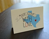 From Austin With Love Card