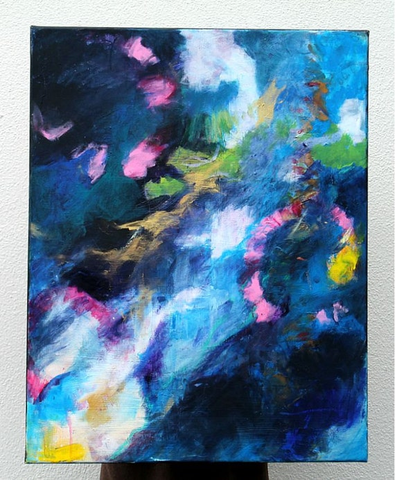 """Abstract Expressionist Painting Contemporary Art """"That's the Way it Ought to Be"""""""
