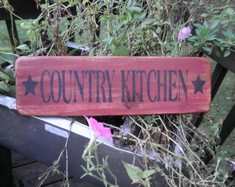 Kitchen Sign. primitive kitchen sign, country kitchen sign, Kitchen decor, rustic, primitive sign, wood sign, hand painted sign, signs
