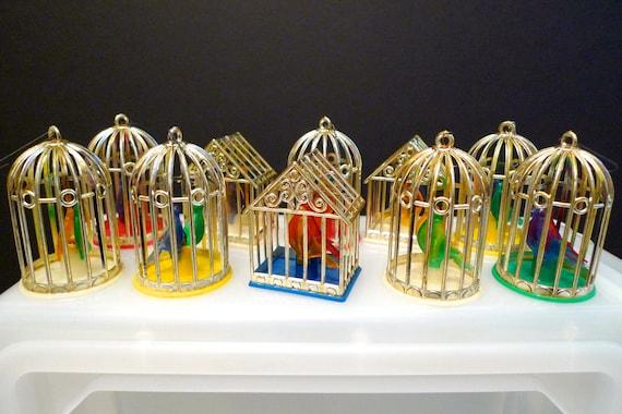 Bird Cage Silvestri Christmas Lights Ornament Bird House