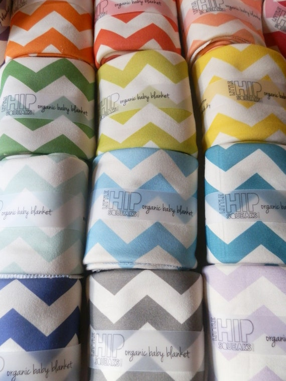 Swaddling Blanket, Chevron, Your Color Choice, Chevron Baby Bedding