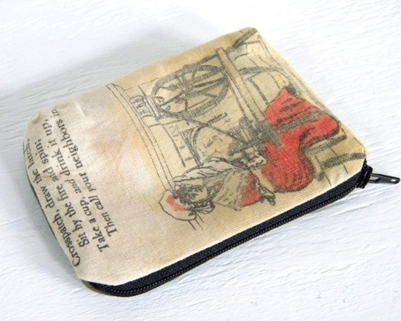 Small Book Pouch