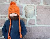 CUSTOMIZABLE KIDS Detachable Beard Beanie