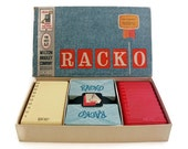 Rack O Card Game 1961 Milton Bradley