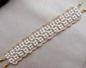 Bridal Cuff / Bridal bracelet