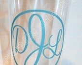 Monogrammed Tumbler Cup. Great gift idea.