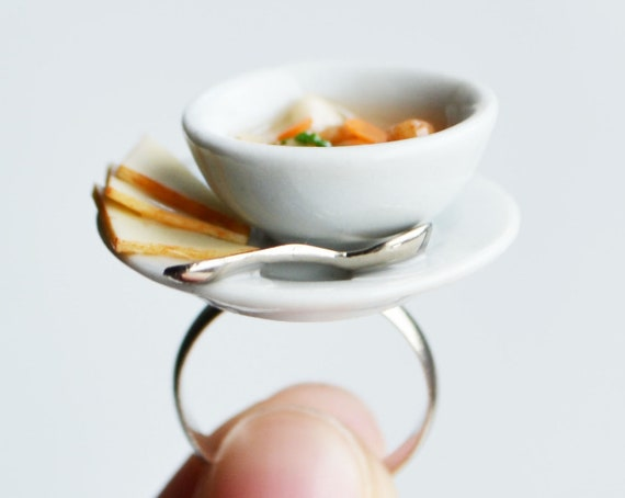 Miniature Soup Ring, Vegetable