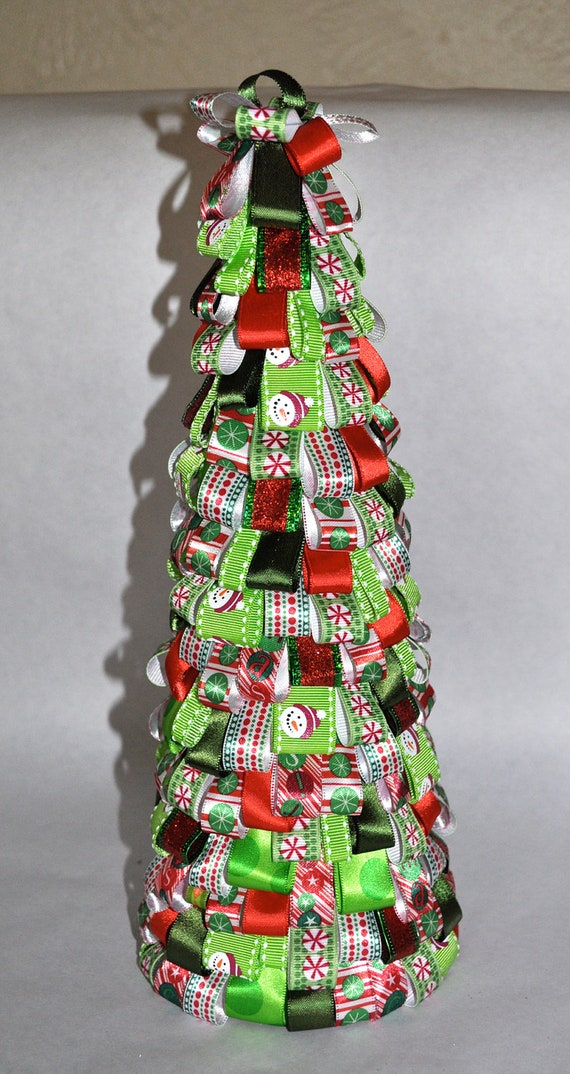 Traditional Fun Table Top Christmas Tree - Ready to ship