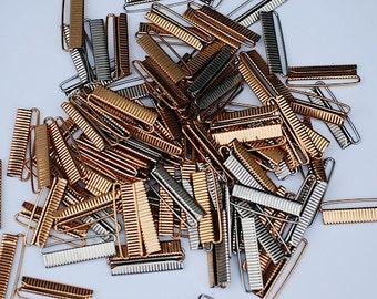 Vintage Metal Gold Buckles, Vintage Dress Accessories, Metal Mid Century Buckles,  Lot of 50 Belt Buckles,  Buckles, Metal Buckles