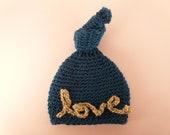 LOVE Baby Newborn Hat