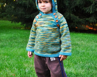 The Kumfy Kapuze Hooded Sweater Pattern