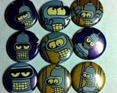 Futurama Bender Wet Dream 9-pack