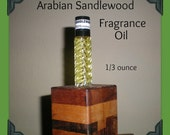 ARABIAN SANDLEWOOD Fragrance Body Oil 1/3 ounce (oz)