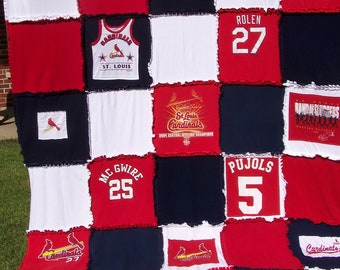 St. Louis Cardinals Blanket-Queen Size-Made to order