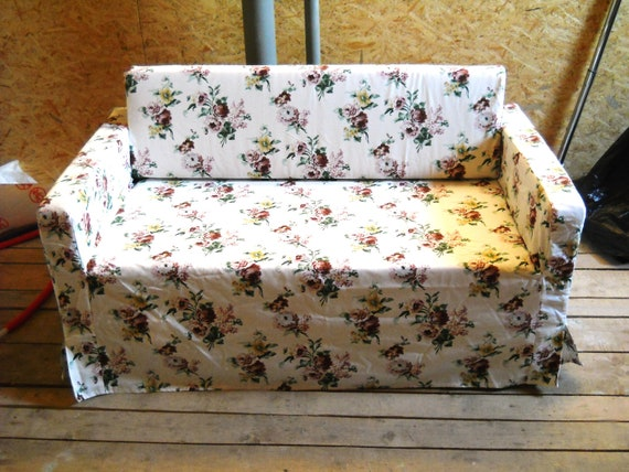 Custom Made Cover For Solsta Sofa Bed From Ikea Listed For