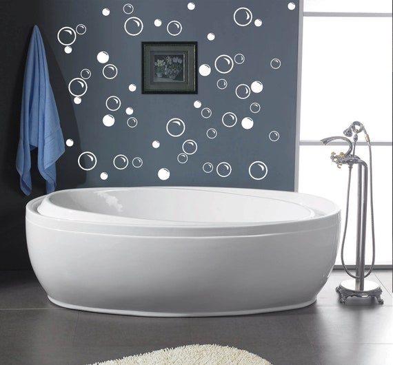 852 Bathtub Data Base Emails Contact Us Hk Mail: 50 Large Soap Bubbles Wall Decals Bathroom Decals Vinyl
