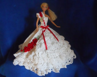 Barbie Bed Doll, Bell of the Ball, Party dress,