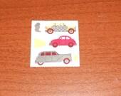 Vintage Sandylion Fuzzy Sticker