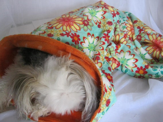 Double Layers of Minky Snuggle Sack