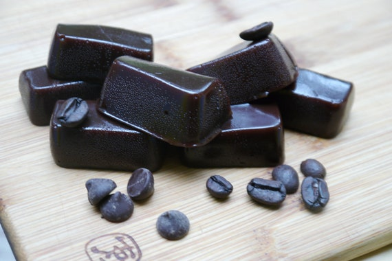 Vegan Organic Mocha Dark Chocolate Coffee Caramels