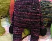 Handknit Plush Monster