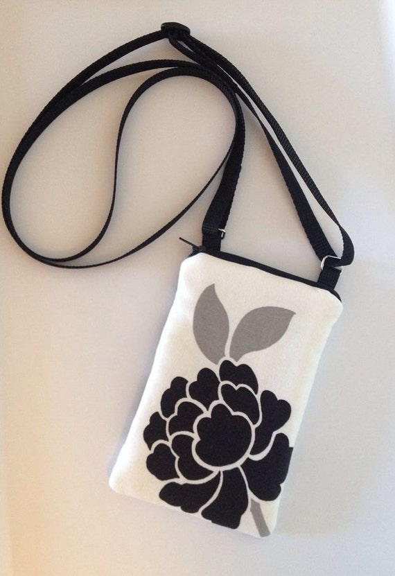 iPhone/cell phone/gadget holder/pouch w/ Crossbody Strap - Free US Shipping