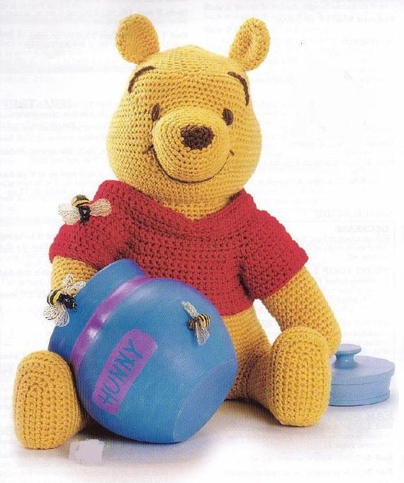 Items similar to Winnie the Pooh Amigurumi Pattern in ...