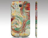 Samsung Galaxy s3 case, Galaxy S4 case, abstract painting, modern art collage, quilt design art for your phone