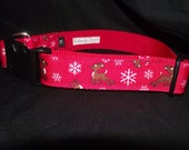 Reindeer style adjustable collar or martingale