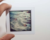 Square format magnets glass both sides ocean fine art photography california