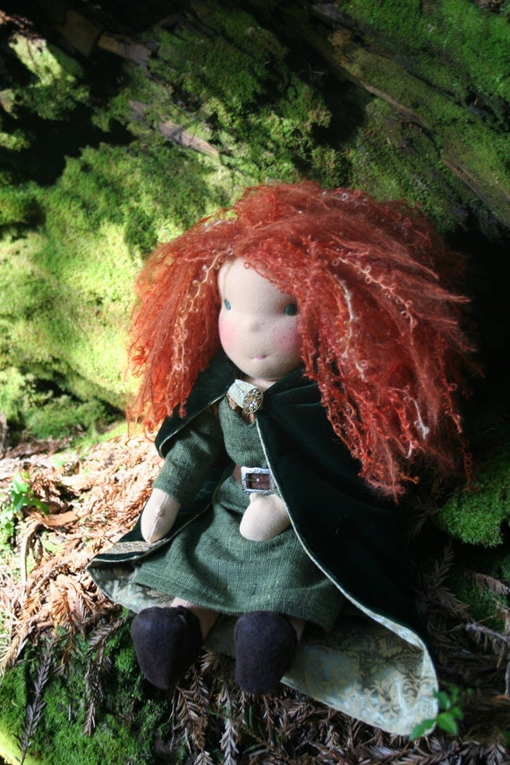 1st of 3 payments for moonfairy merida waldorf doll