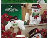 Frosty Friends Plastic Canvas Pattern Book  Annies Attic 872274